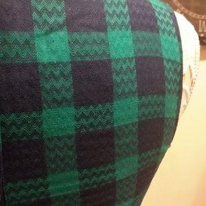 Modcloth Dresses - ModCloth Green Plaid Dress